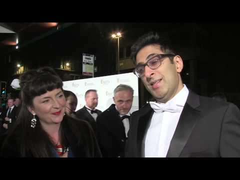 Scottish BAFTAs 2014 - Simon Pegg, Sanjeev Kohli, Shirley Henderson and Greg McHugh on the red carpe