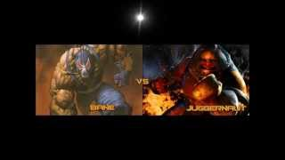 Good and Bad DEATH BATTLES: Juggernaut vs. Bane