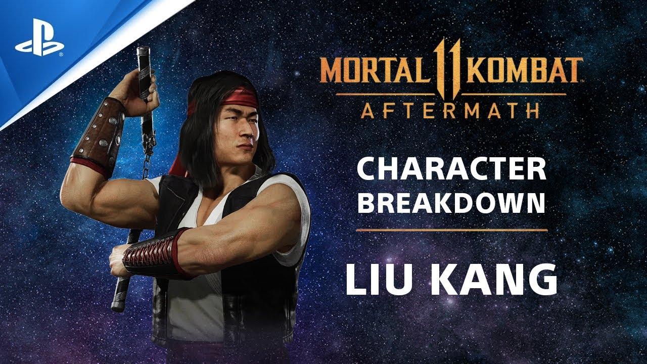 Mortal Kombat 11: Aftermath - Character Breakdown: Liu Kang | PS Competition Center