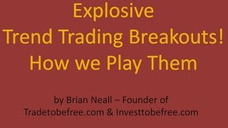 Trend Trading Strategy - How to Play Breakouts