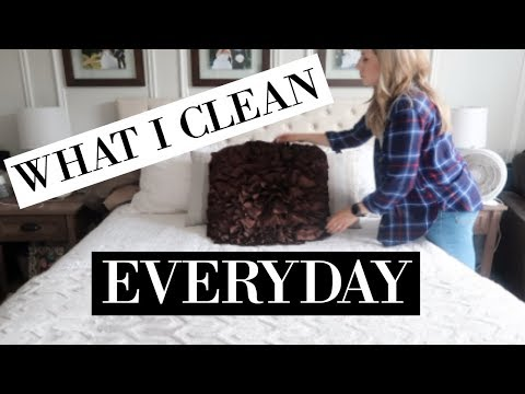 DAILY CLEANING ROUTINE OF A STAY AT HOME MOM 2018 | CLEAN MY HOUSE WITH ME