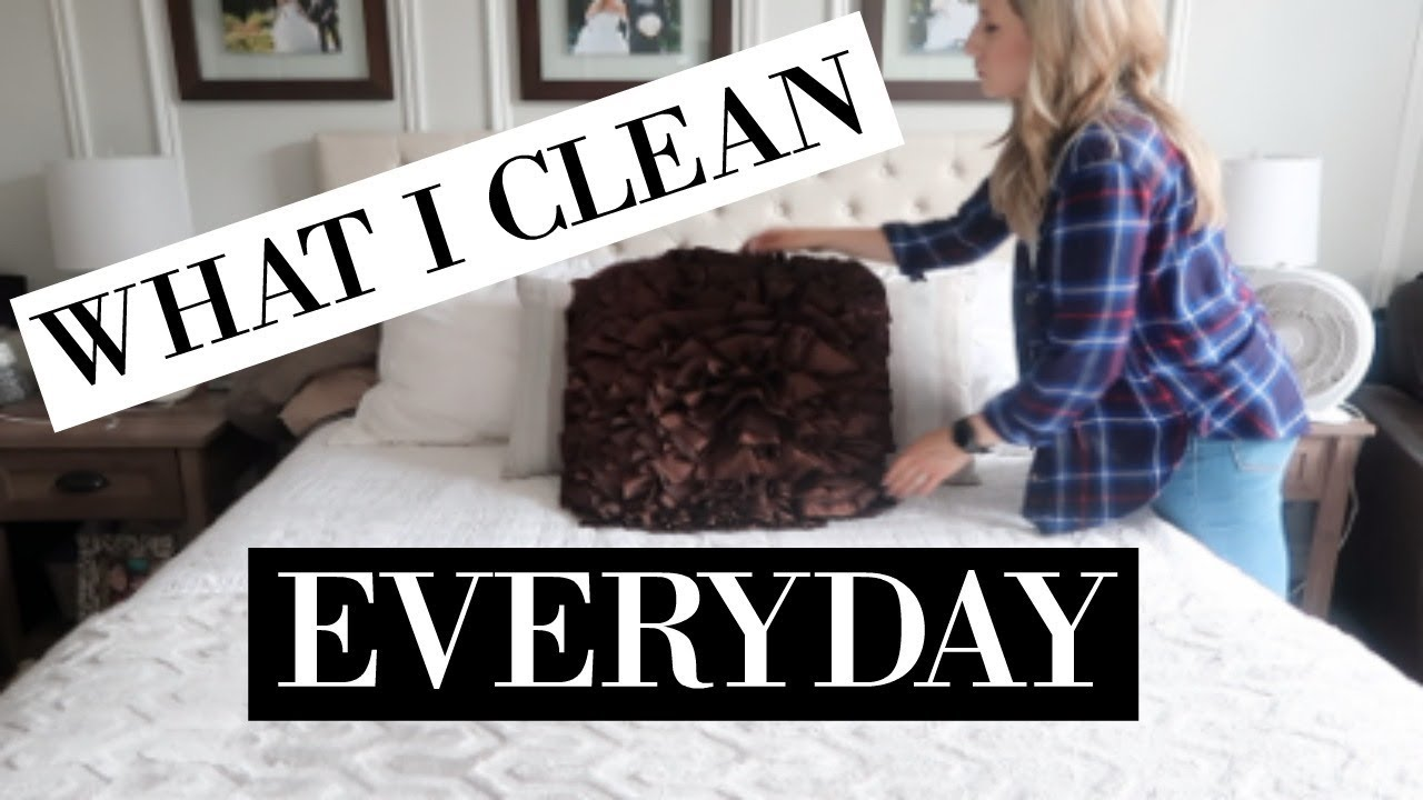 Daily Cleaning Routine Of A Stay At Home Mom 2018 Clean My House With Me