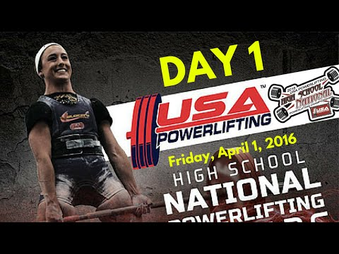 Day 1 - 2016 USAPL High School Nationals