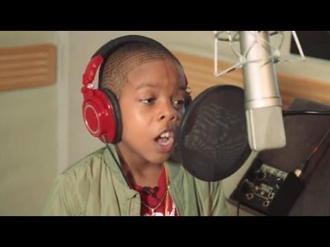 rapero de 10 años tiene un mensaje para compartir