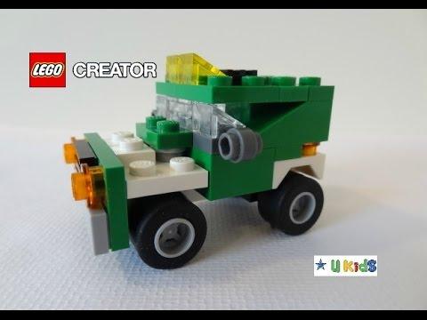 สอนต่อเลโก้รถบรรทุก แบบที่ 3 (วิดีโอรีวิวของเล่น เลโก้ครีเอเตอร์)