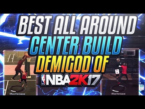NEW DEMIGOD OF NBA 2K17! • CHEESIEST OVERPOWERED CENTER BUILD IN NBA 2K17 • SPEEDBOOSTING CENTER!😱