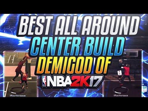 NEW DEMIGOD OF NBA 2K17! • CHEESIEST OVERPOWERED CENTER BUILD IN NBA 2K17 • SPEEDBOOSTING CENTER!
