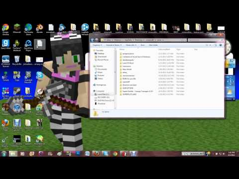 MINECRAFT - HOW TO INSTALL DOWNLOADED WORLDS [EASY] [FAST]