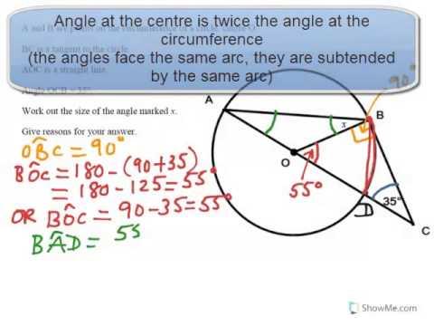 Circle Theorems Examination Style Question 3 Gcseigcseks4 Youtube