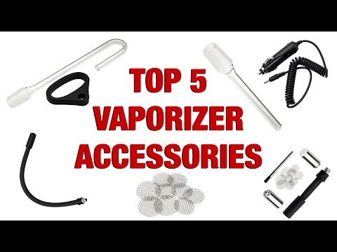 Top 5 Vaporizer Accessories for the Ascent and DaVinci Portable Vaporizers