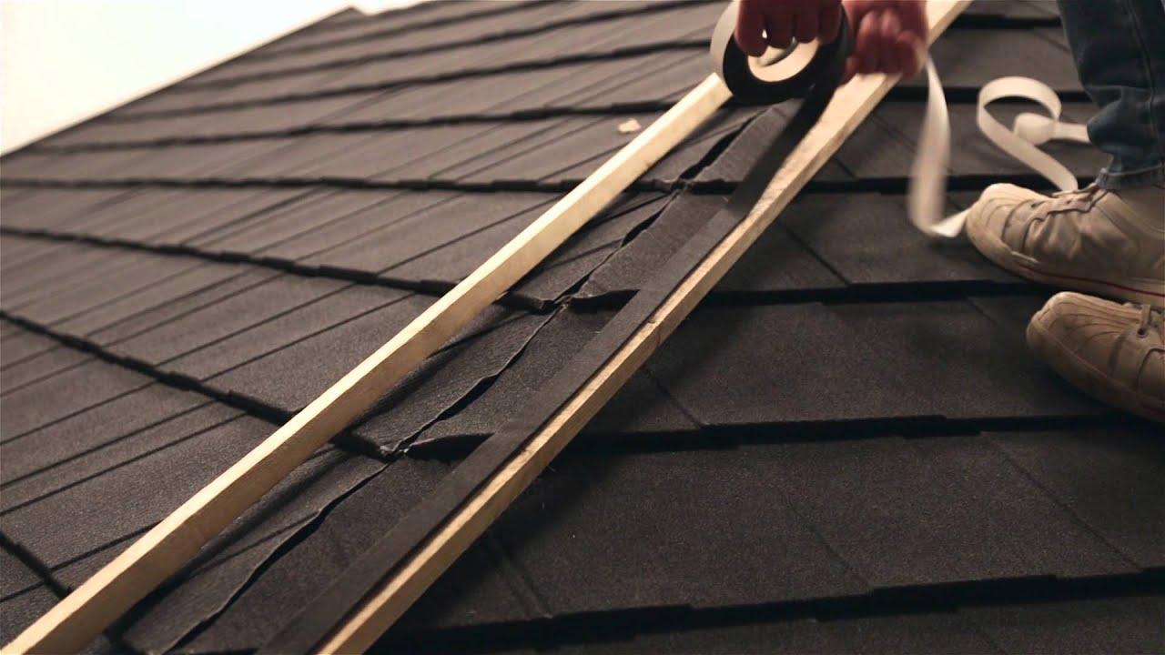 Fixing Installing Lightweight Roofing Hip Installation