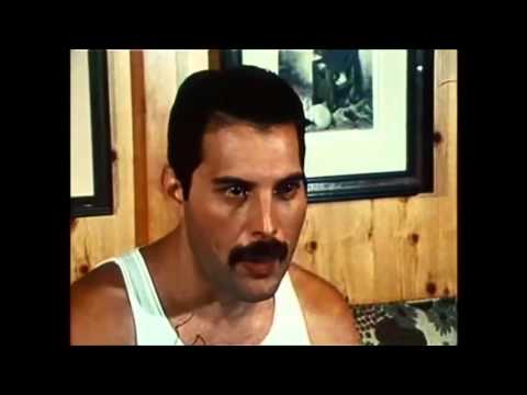 Freddie Mercury talks about