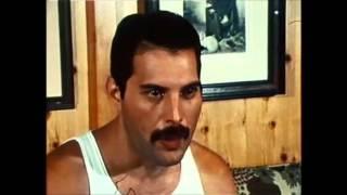 Freddie Mercury talks about Under Pressure