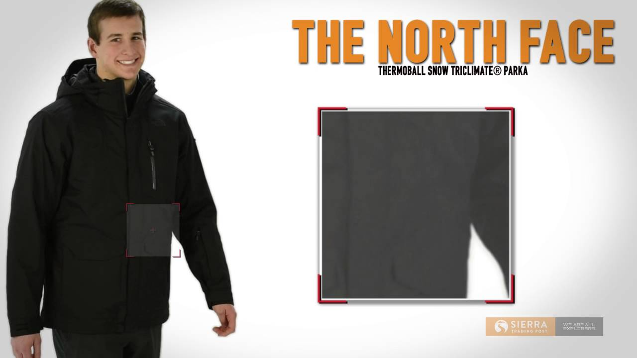 1c13ca73a The North Face Thermoball Snow Triclimate® Parka - Waterproof, Insulated,  3-in-1 (For Men)