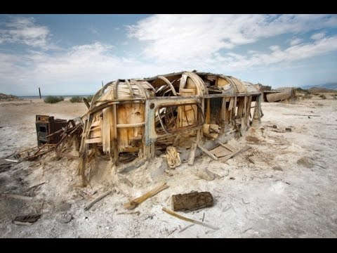 ABANDONED BOMBAY BEACH GHOST TOWN