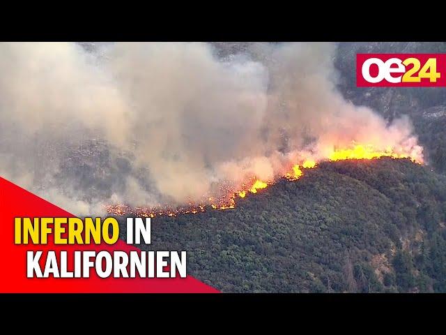USA: Flammeninferno im Süden Kaliforniens