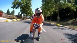 Gambar cover Speed Skating Downhill of 85 km/h  World Roller Games Barcelona (Video 3)