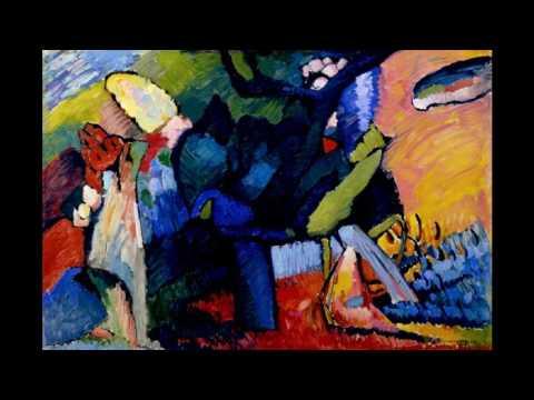 Wassily Kandinsky  B 瓦西里·康定斯基 (1866 - 1944) Expressionism Abstract Art Russian