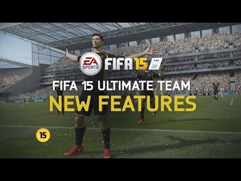 FIFA 15 Ultimate Team | Nové prvky a funkce