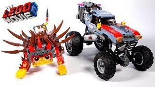 Лего Фильм 2 Побег Эммета и Дикарки на багги (70829) и LEGO Ультра-киса