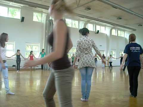 Easy Hungarian Folk Dance Lesson