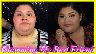 DOING MY BEST FRIENDS MAKEUP | JOVANY ROMO