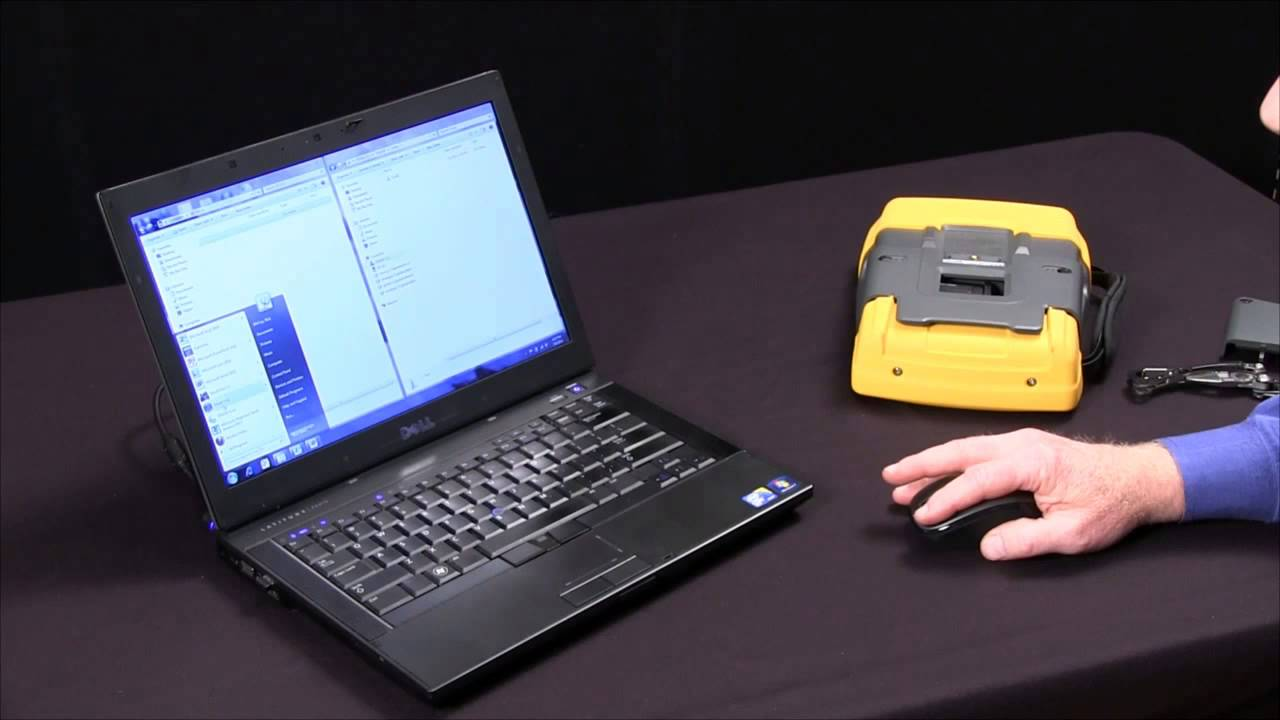 How To Transfer Data From The Fluke 435 To The Power Log Software Youtube