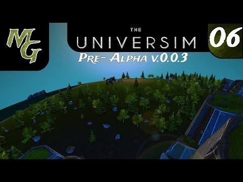 Let's Play – Universim – Pre-Alpha - Episode 06 [Version 0.0.3 Farm Challenge]: