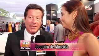 Joaquin de Almeida / Rebeca Liscano / Premios Platino