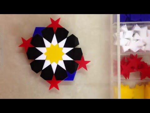 Girih Geometric Puzzle - Pattern Improvisation
