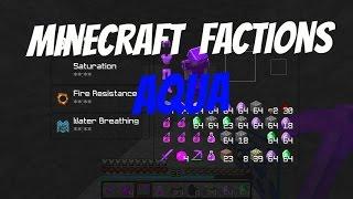 Minecraft Factions Aqua Ep 1 - Diamond and Emerald Caves