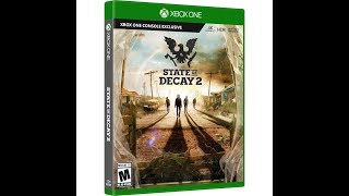 State of decay 2 quick review & 30mins stream from Xbox one x