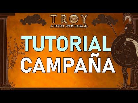 🐴 TUTORIAL TOTAL WAR TROY (Modo Campaña) Guía y consejos para jugar la campaña de TROYA en español