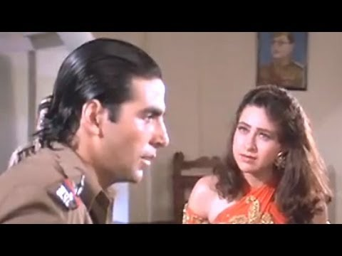 Akshay and Karishma at Police station - Sapoot Scene