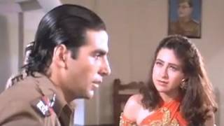 Akshay and Karishma at Police station - Sapoot Scene