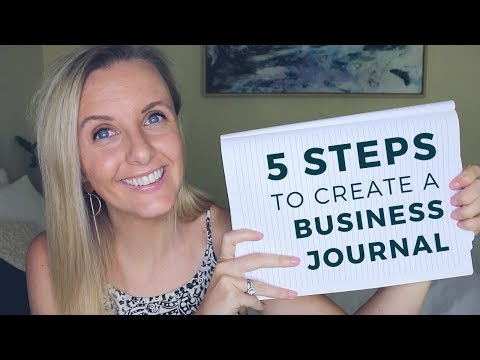 Why I Keep a BUSINESS JOURNAL 📓  Business Journaling for Beginners