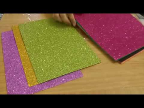 Foam sheet/DIY easy makeup organizer using tin
