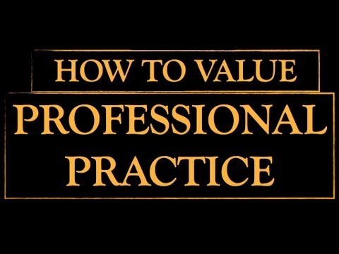 Professional Practice Valuation