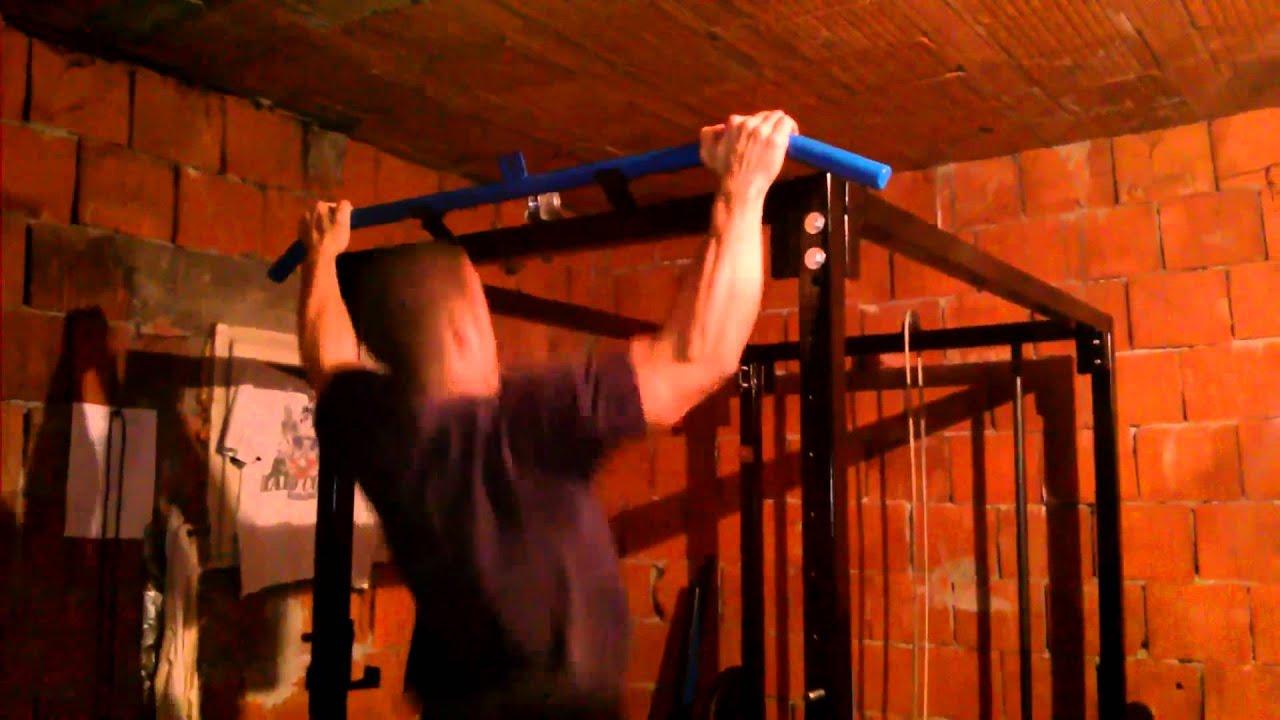 Best Homemade Power Rack - YouTube