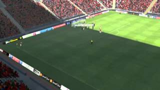 Arsenal Vs Man Utd - Mertesacker Goal 44 Minutes