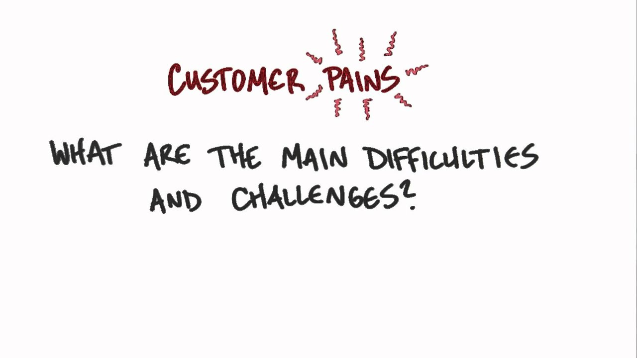 Customer Pains - How to Build a Startup