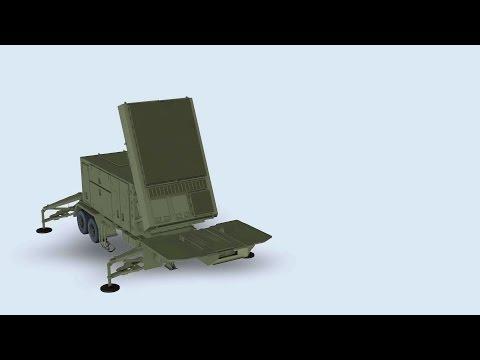 Raytheon - Patriot AESA Radar Which Can Detect Stealth Aircrafts [1080p]