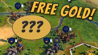 How to Make Gold From Nothing in Civ 6 [Civilization 6 Gold Exploit]