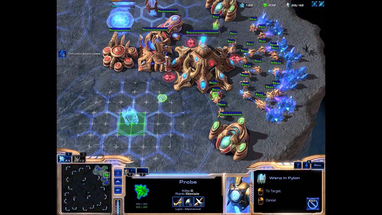 StarCraft 2 dohazování 2vai