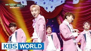 PENTAGON - Critical Beauty   펜타곤 - 예뻐죽겠네 [Music Bank COMEBACK / 2017.06.16]