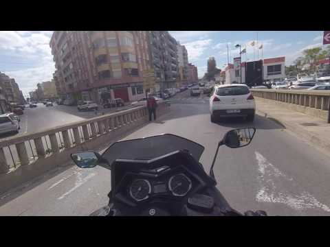 Yamaha Tmax 530 ❤️ Daily Observations |1080p50 | Cullera, Valencia, Spain