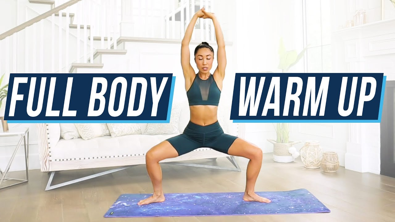 10 Minute Full Body Warm Up - do this before ANY intense workout!