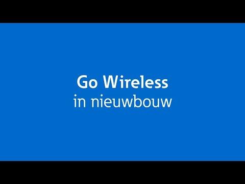 Go Wireless draadloze schakelpakketten in nieuwbouw