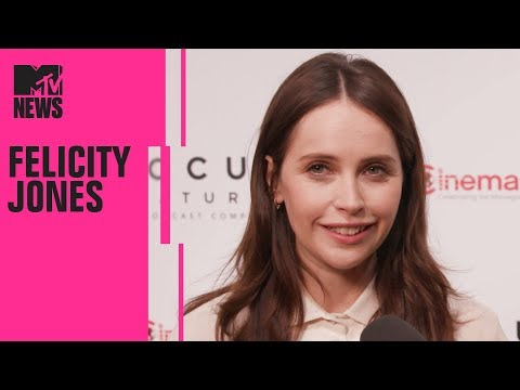 Felicity Jones on Playing Ruth Bader Ginsburg in 'On the Basis of Sex'  CinemaCon  MTV