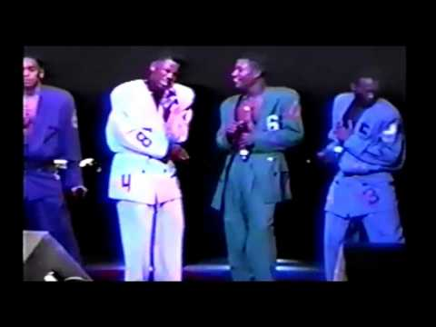 R. Kelly - Dedicated ( Live ) *1990*